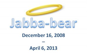Jabba-bear name with halo-for blog